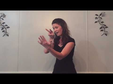 When the roll is called up yonder by Twila Paris in ASL - YouTube