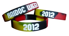Aboriginal NAIDOC Week Silicone Wristbands