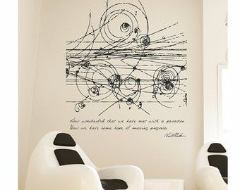 Science art mathematics Fibonacci Spiral & by cutnpasteshop