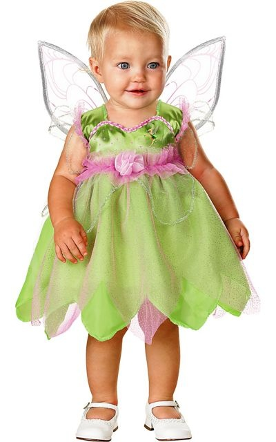 Baby Tinker Bell Costume -Top Costumes -Infant, Baby Costumes -Baby, Toddler Costumes -Halloween Costumes - Party City