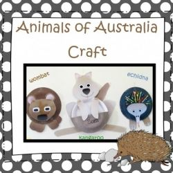 Australian Animal Craft from TeachEzy