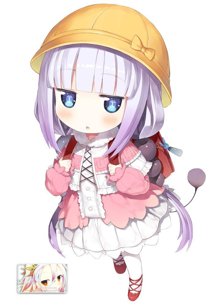 Kamui Kanna (Kobayashi-san) Render By Totoro-GX On DeviantArt | Chibi | Pinterest | Kobayashi ...