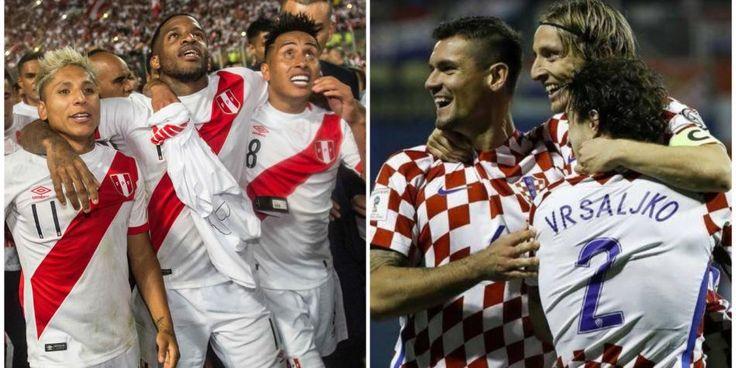 Selección: así comunicó Croacia amistoso contra Perú