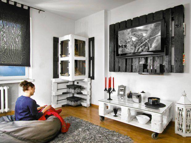 Zdjęcie numer 2 w galerii - Meble z palet modne i ekologiczne. Sprawdzamy, jak wyglądają we wnętrzach