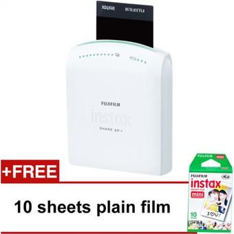 Buy Fujifilm Instax Share Printer White with FREE 1 pack (10sheets) plain film online at Lazada. Discount prices and promotional sale on all. Free Shipping.