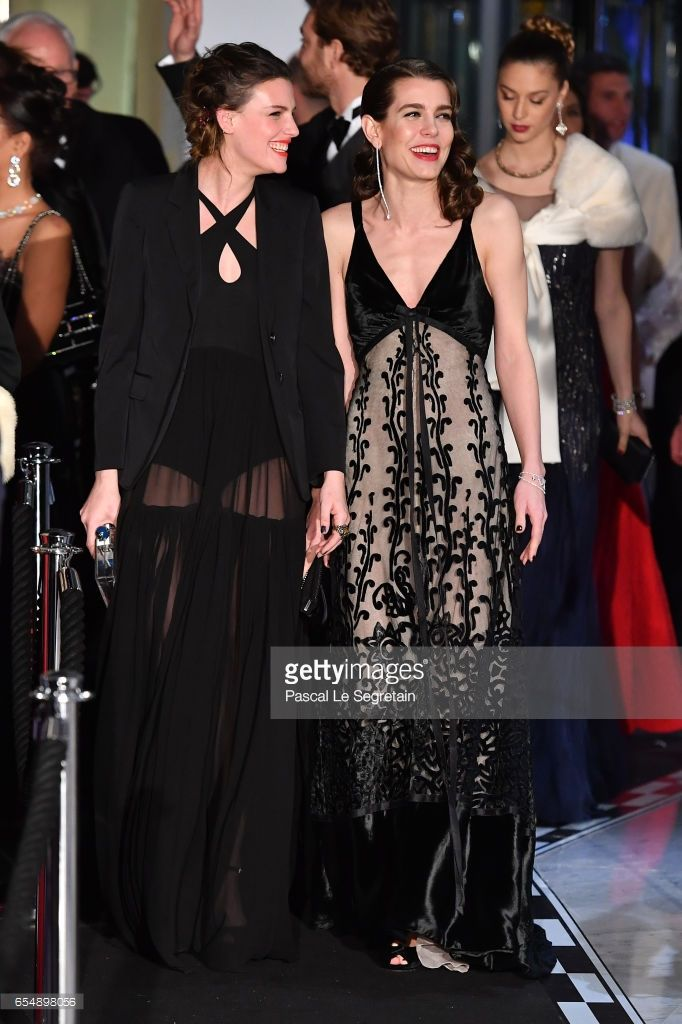 News Photo : Juliette Maillot and Charlotte Casiraghi arrive...