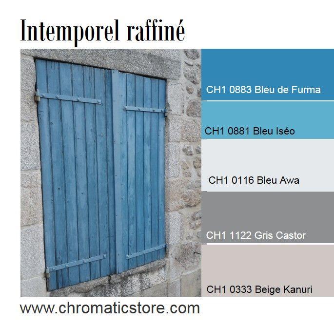 association de couleur avec le gris bleu. Black Bedroom Furniture Sets. Home Design Ideas