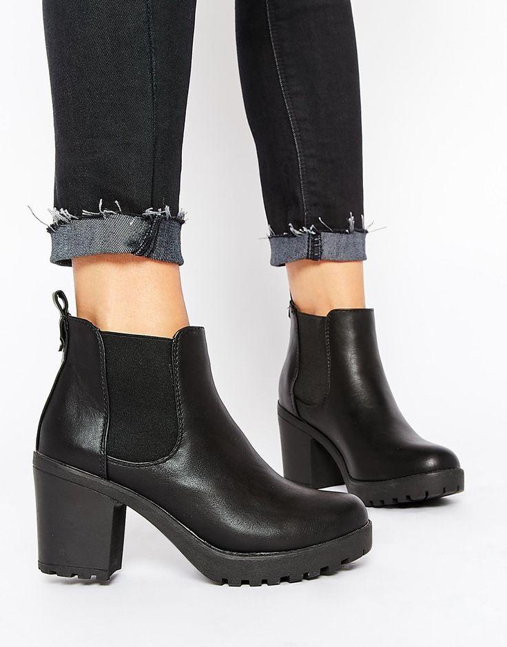 Truffle Collection Tori Platform Heeled Chelsea Boots