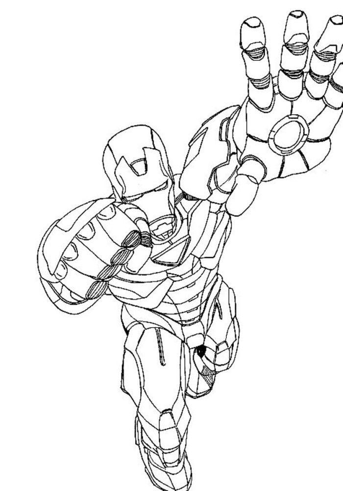 Ausmalbilder Ironman Zum Ausdrucken Iron Man In 2018 Pinterest