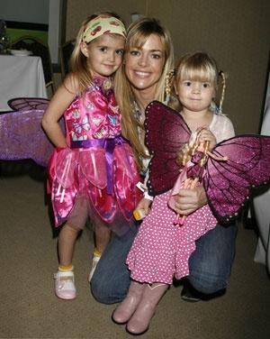 CELEBRITY BABIES: Denise Richards and her daughters Sam Sheen,Lola Rose Sheen,