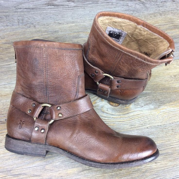 Frye Harness Boots Women's Size 10 #Frye #Motorcycle