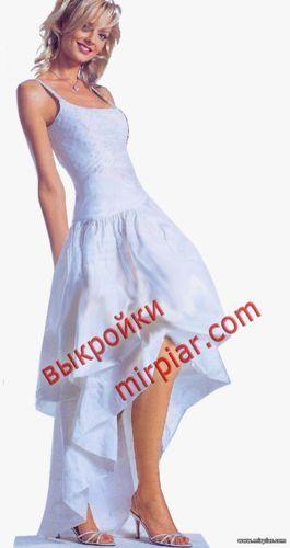 юбка укороченная спереди, маллет, ПЛАТЬЯ, платье маллет, dresses, юбка маллет, мода, pattern sewing, выкройки платьев, выкройки скачать, выкройка, шитье, выкройки бесплатно, free pattern, готовые выкройки