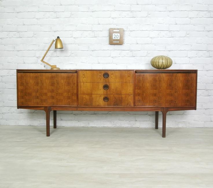 McINTOSH ROSEWOOD RETRO VINTAGE TEAK MID CENTURY DANISH STYLE SIDEBOARD 60s 70s   eBay