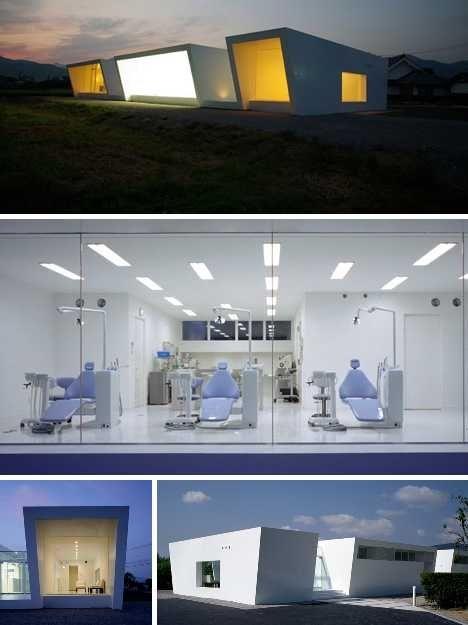 Стоматологическая клиника в стиле минимализма