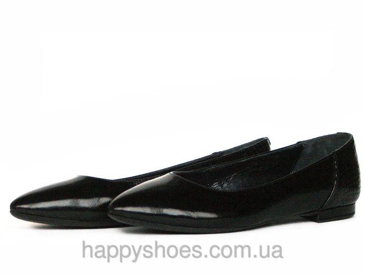 """Черные лаковые балетки остроносые: продажа, цена в Запорожье. балетки женские от """"HappyShoes"""" - 271490011"""