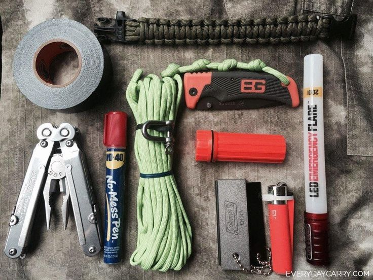 A peek into the pockets of people worldwide, showcasing our every day essentials. #bushcraftessentials
