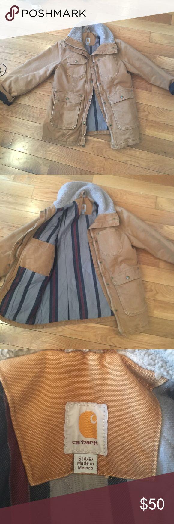 Women's carhartt jacket Women's carhartt jacket size small brand new Carhartt Jackets & Coats Utility Jackets