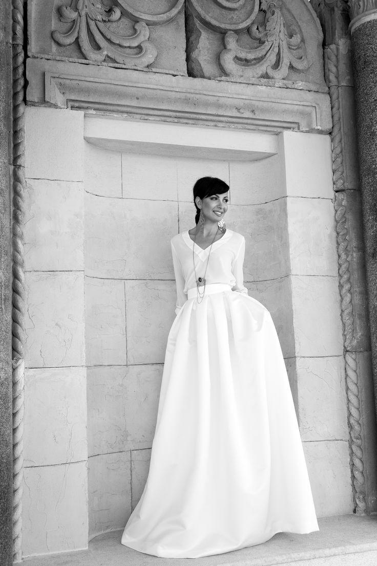 Chic Bride by Marianna Kastrinos.
