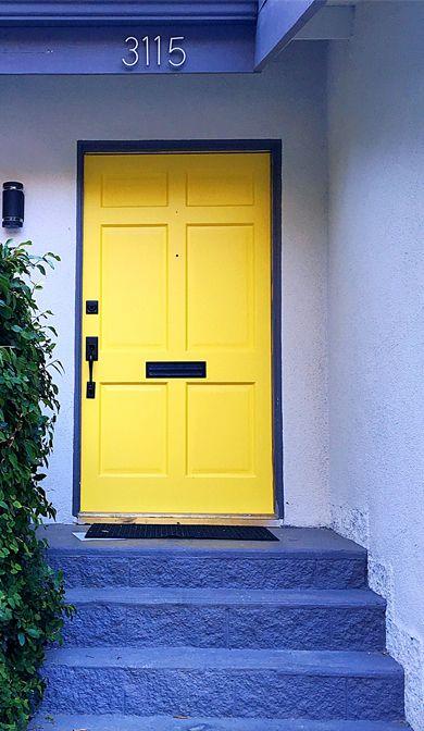 Great Front Door Colors 104 best colorful front doors images on pinterest | doors, windows