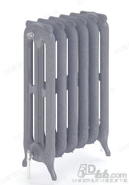 散热器3d模型(190849)