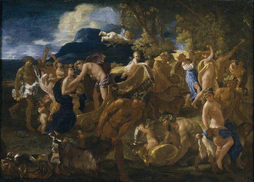 Nicolas Poussin - Bacchanal (1625-1626), Museo Nacional del Prado, Madrid
