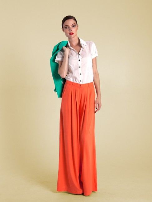 Classic sheer white shirt designed for Spring / Summer 2012/13 collection from Handsom - 100% Cotton - $74