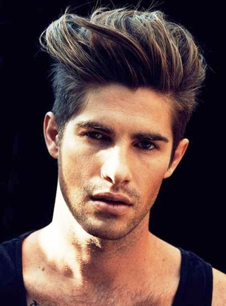 style boys hair cool brushed up haircuts for 2015 trend voguemagz 9371 | 0172a1e13f614dc0dfd8b41086f17c59 curly haircuts medium haircuts