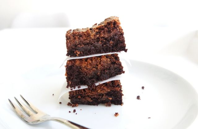 Legally-Food: Gezonde pindakaas brownies