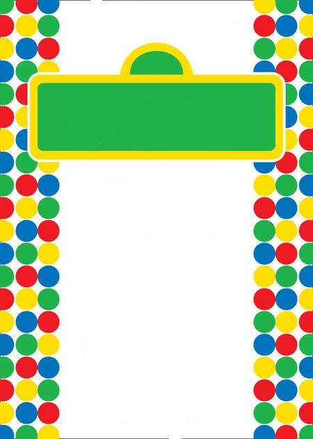 143 best plaza sesamo party images – Free Printable Elmo Birthday Invitations