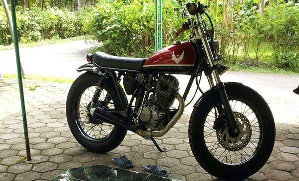 Modifikasi Motor Honda GL MAX