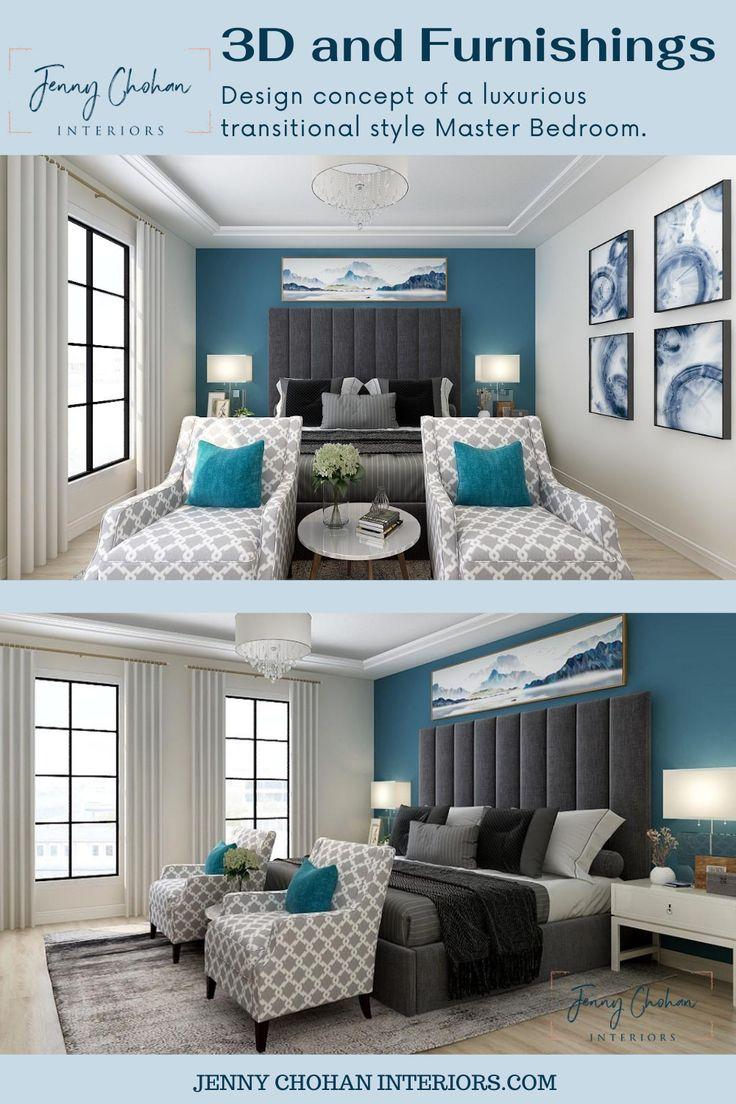 Master Bedroom Redesign in 2021   Online interior design ...