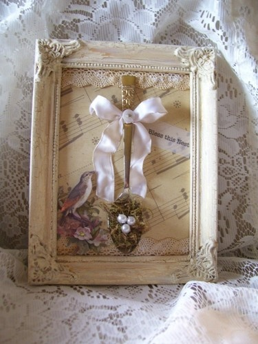 Shabby Cottage Chic Nest Prints Home Decor Wall Art ~ Best images about bless this nest on pinterest moss