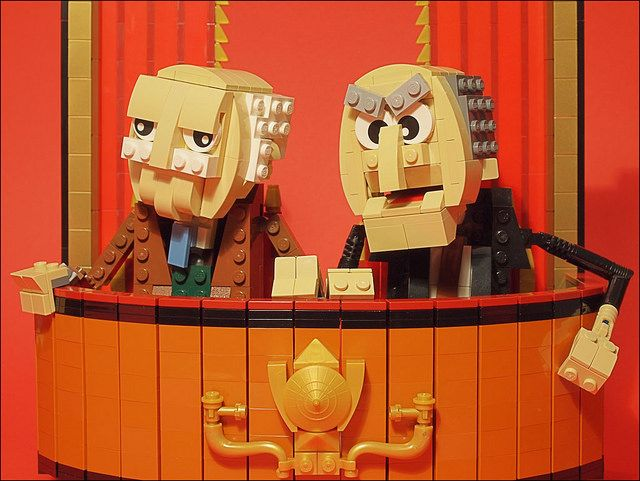 """""""The second half of this show reminds me of Aspen …cause it's all downhill from here!"""" 