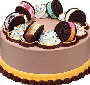 Baskin-Robbins | OREO®+Ice+Cream+Cookie+Sandwich+Cake