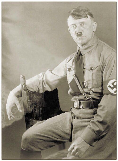 Der Führer Adolf Hitler (20 April 1889 - 30 April 1945)