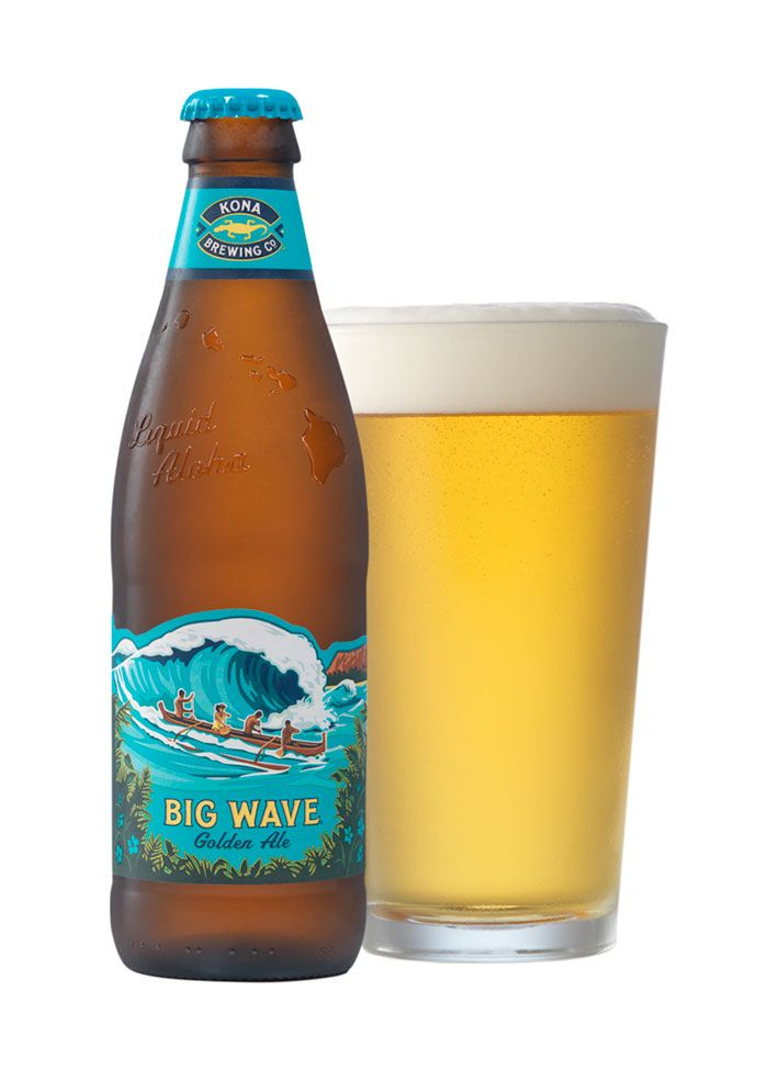 Liquid Aloha // Kona Brewing Custom Bottle