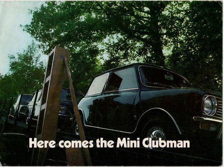 Mini - British Leyland Mini Clubman 1969 UK Brochure (NO4)