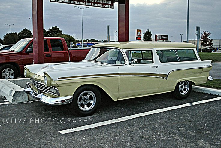 1957 ford ranch wagon automobiles pinterest for 1957 ford 2 door ranch wagon