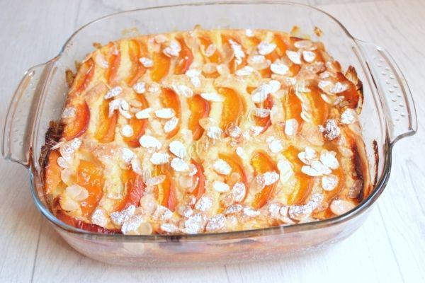 Манник с абрикосами, рецепт