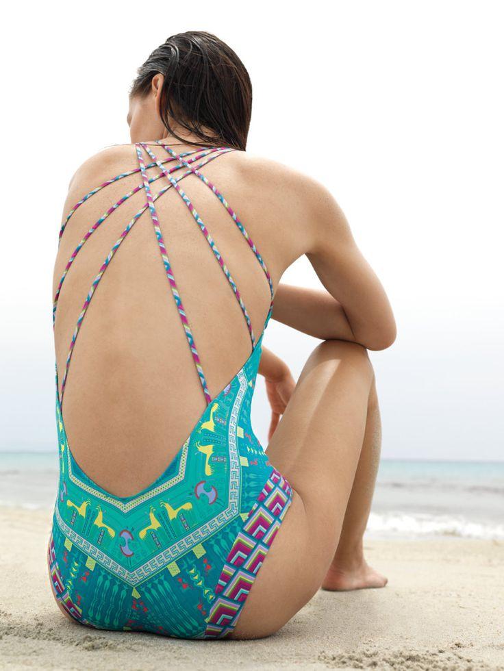 Paolita   Absinthe Green Fairy one-piece swimsuit