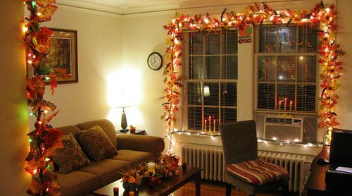inside decor for the fall season.