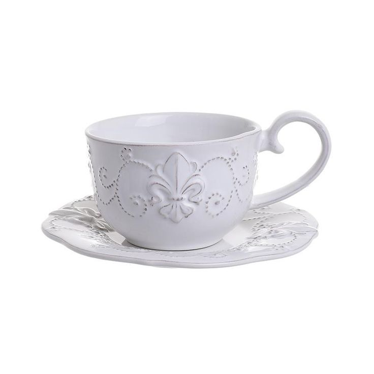 Tea Cup Set Of 4 Pieces - inart