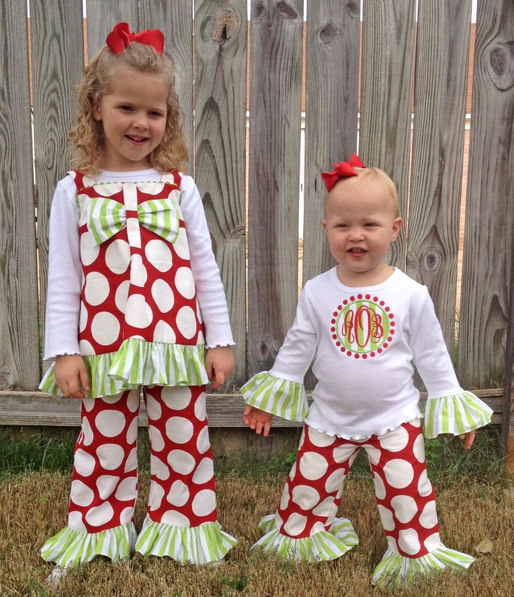 Matching Christmas Dresses For Sisters pictures