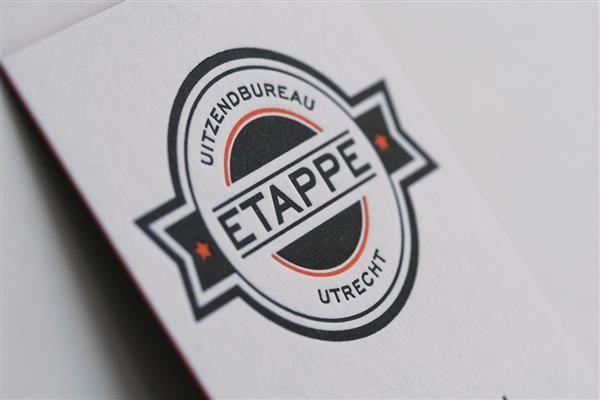 Rens Dekker | Logo ontwerp, Logo design, Huisstijl, visitekaartjes, identiteit Etappe Uitzendbureau