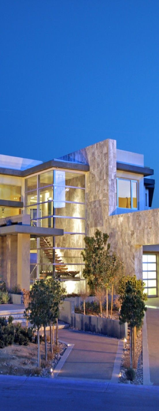 Contemporary and Luxury Tenaya Residence in Las Vegas Design by DesignCell