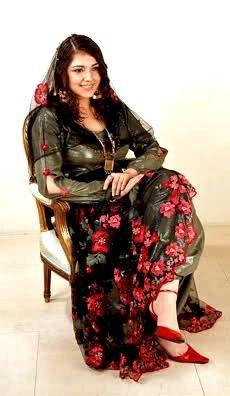 Kurdish Girl in a traditional Dress.
