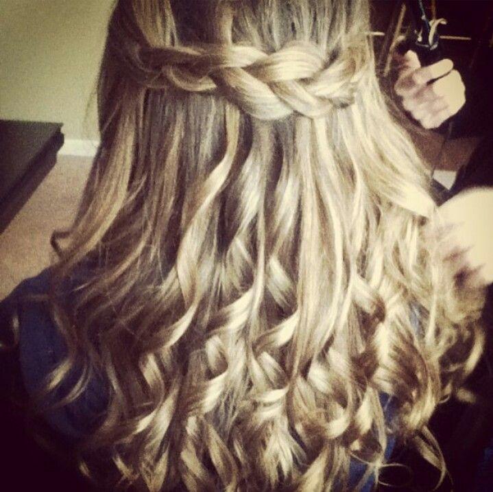 Imagen perfecta peinados con pelo en capas Galería de cortes de pelo estilo - Pin de Mayra Arellano en Hair | Cabello chino largo ...