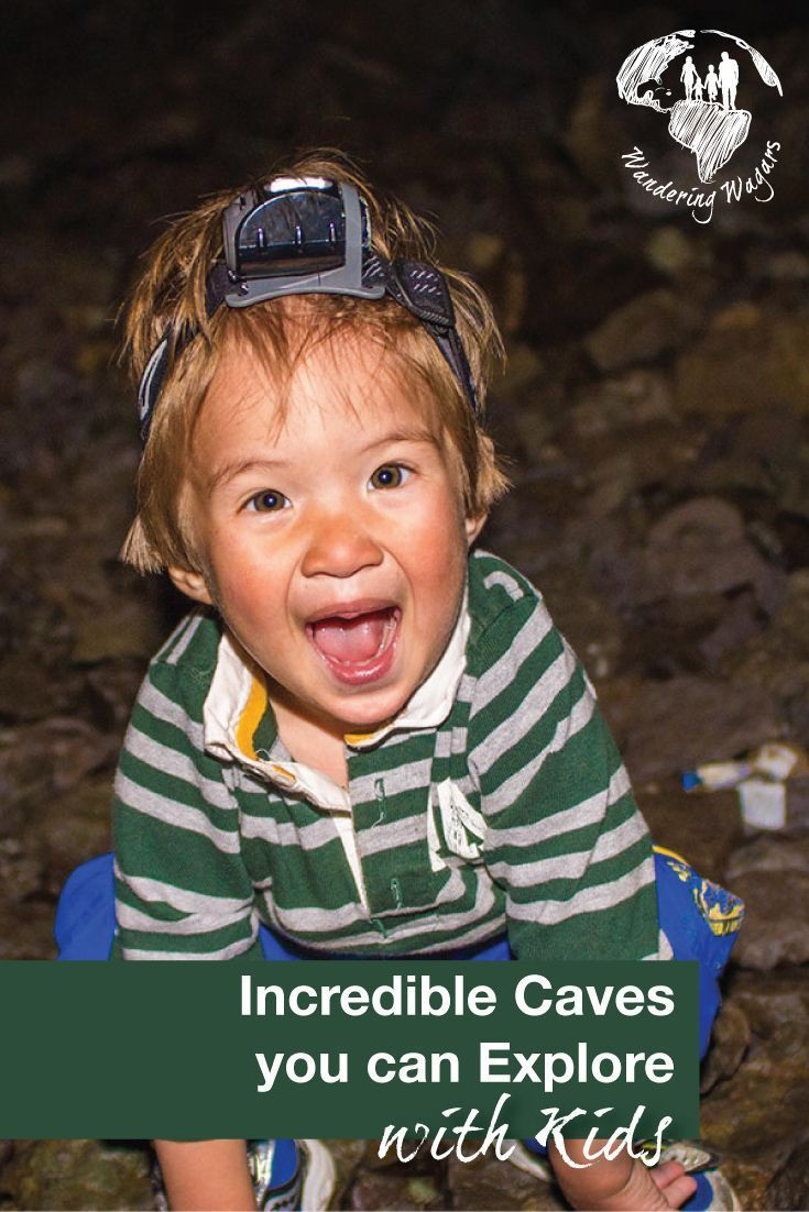 Caving is possible to do with kids if you choose the right cave. Here is our list of suggested changes for families that want to try exploring caves with their kids.