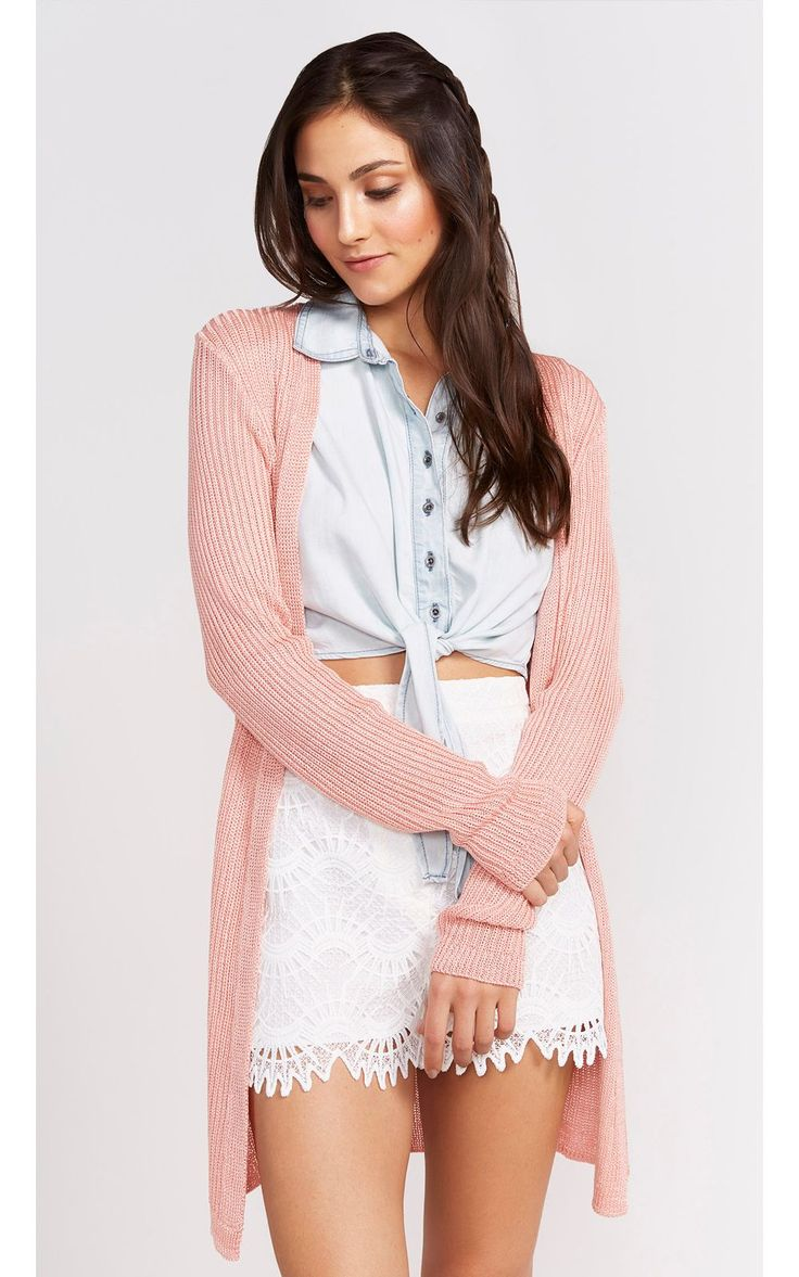 Cardigan Rosa Millennial PopUp Store - R$259,00