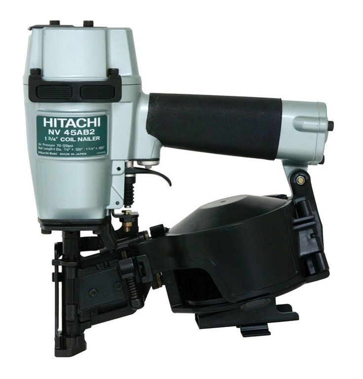 Hitachi NV45AB2 7/8-Inch to 1-3/4-Inch Coil Roofing Nailer (Side Load) * Check out the image by visiting the link.